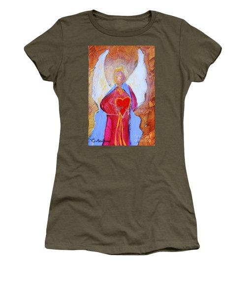 Precious Heart Angel Women's T-Shirt