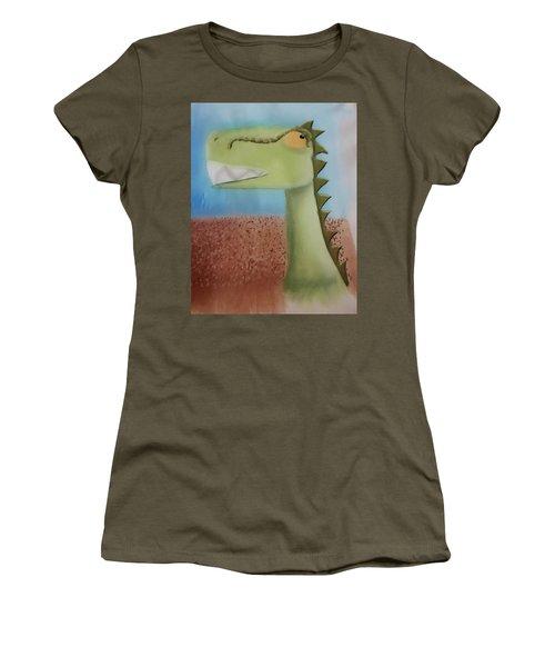 Dinoart Raptor Women's T-Shirt (Athletic Fit)