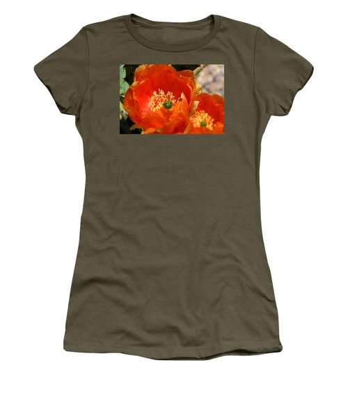 Prickly Pear In Bloom Women's T-Shirt (Athletic Fit)