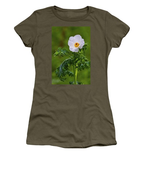 Prickly Poppy Women's T-Shirt (Athletic Fit)