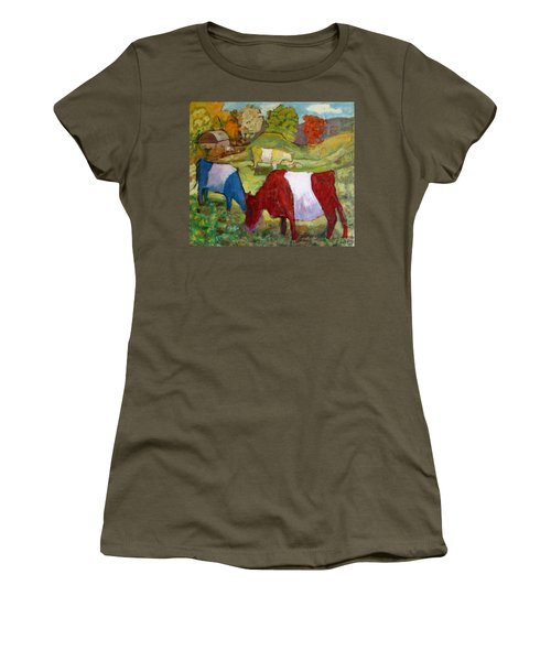 Primary Cows Women's T-Shirt