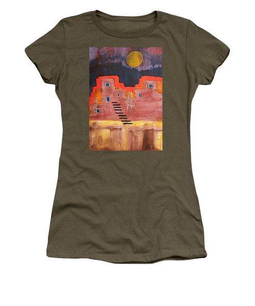 Pueblito Original Painting Women's T-Shirt