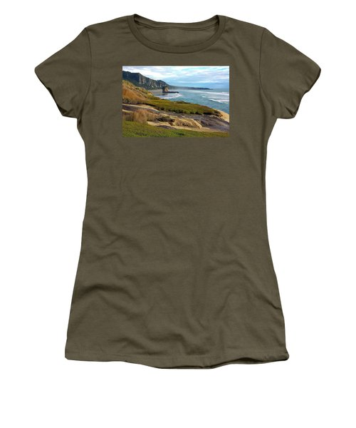 Punakaiki Truman Track Women's T-Shirt (Junior Cut) by Stuart Litoff