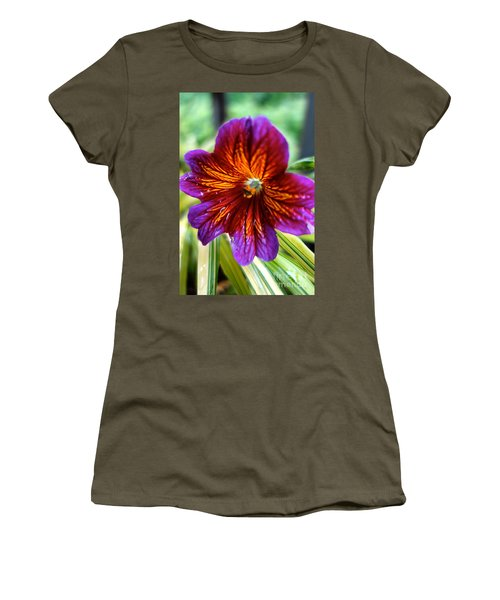 Purple And Orange Women's T-Shirt