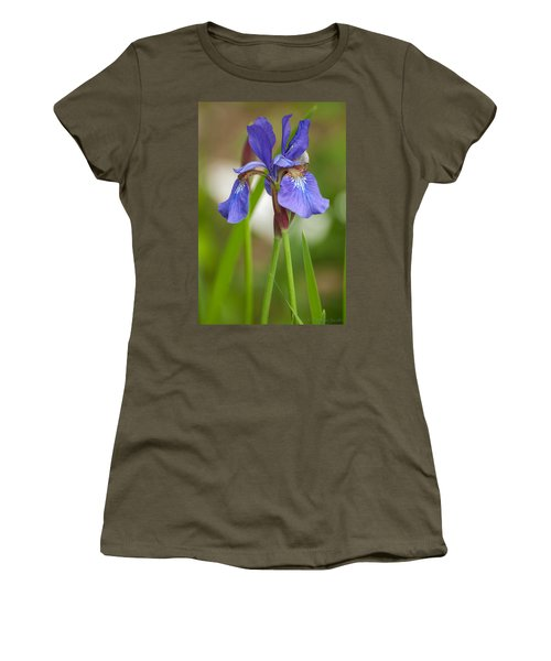 Purple Bearded Iris Women's T-Shirt