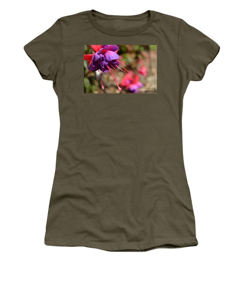 Purple Fuchsia Women's T-Shirt