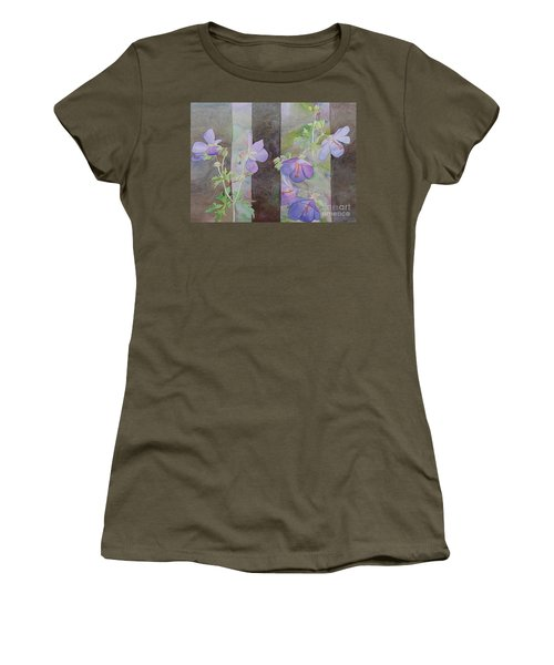Purple Ivy Geranium Women's T-Shirt