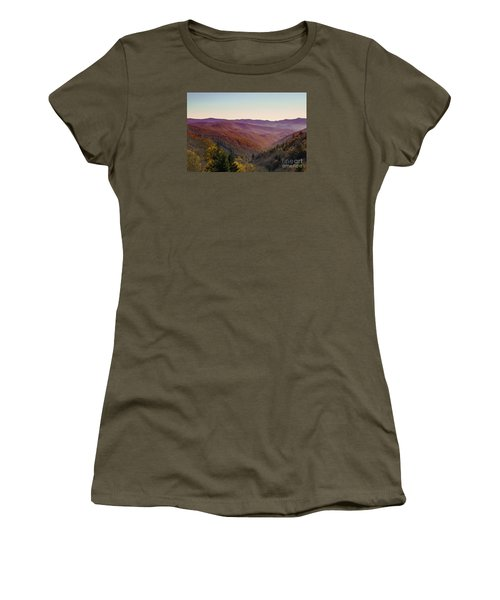 Purple Mountains Majesty Women's T-Shirt (Athletic Fit)