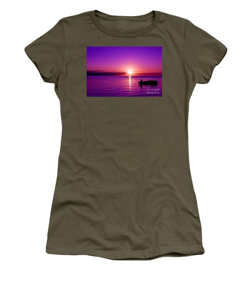 Purple Sunrise Women's T-Shirt