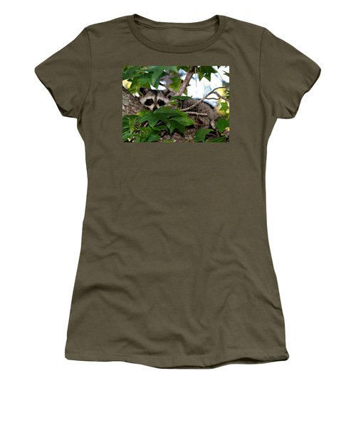 Raccoon Eyes Women's T-Shirt