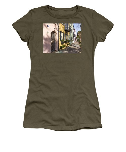 Rainbow Row Women's T-Shirt