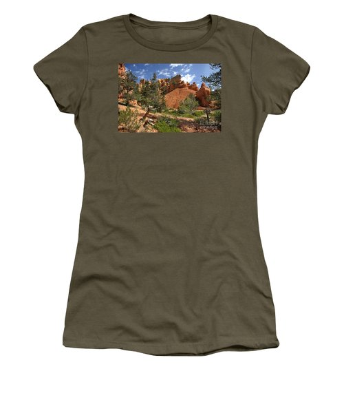Red Canyon Women's T-Shirt (Athletic Fit)