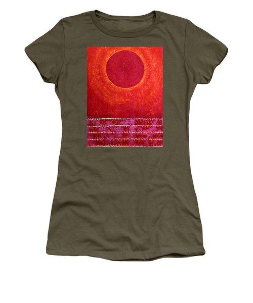 Red Kachina Original Painting Women's T-Shirt