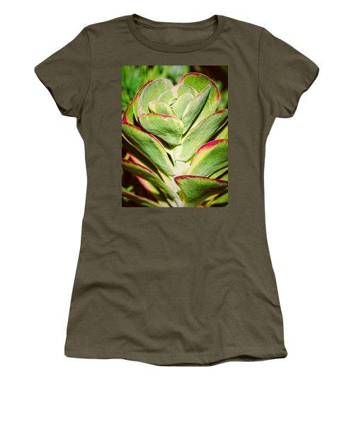 Red Tipped Cactus Women's T-Shirt