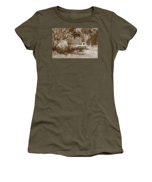 Reflecting Bench Women's T-Shirt