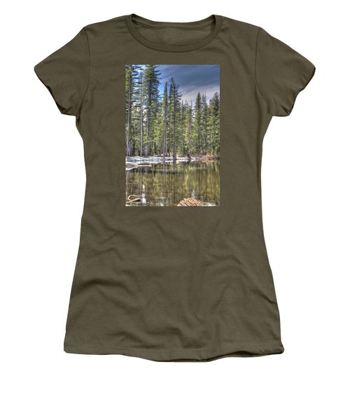reflecting pond 4 Carson Spur Women's T-Shirt
