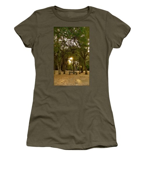 Reflection At Sunrise Women's T-Shirt (Athletic Fit)