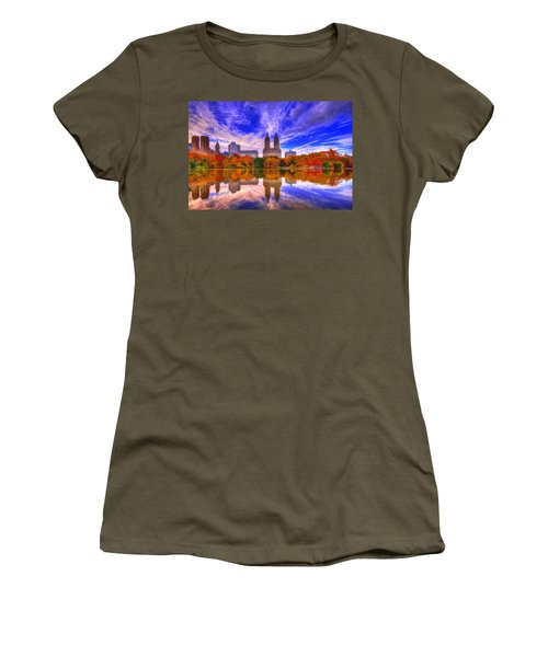 Reflection Of City Women's T-Shirt (Athletic Fit)