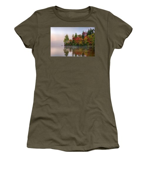Reflection Of Trees On Water, Seventh Women's T-Shirt