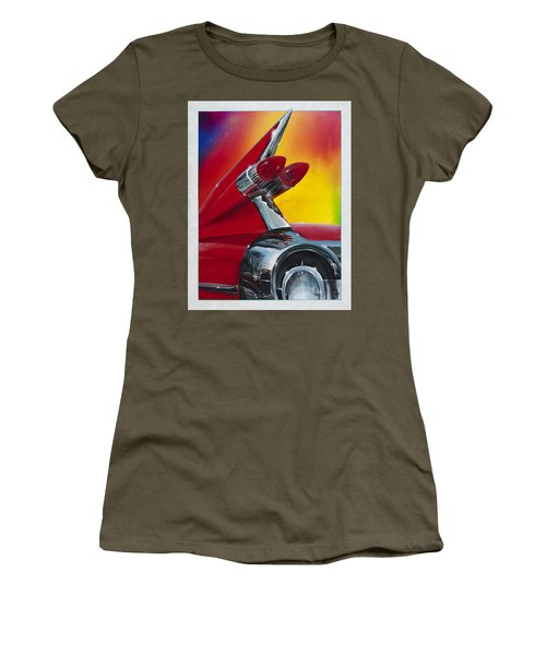 Reflections Of Yesterday Women's T-Shirt