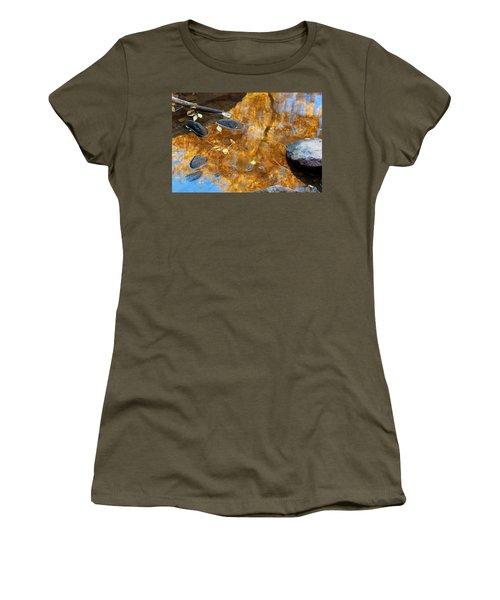 Women's T-Shirt (Junior Cut) featuring the photograph The Melting Pot by Jim Garrison