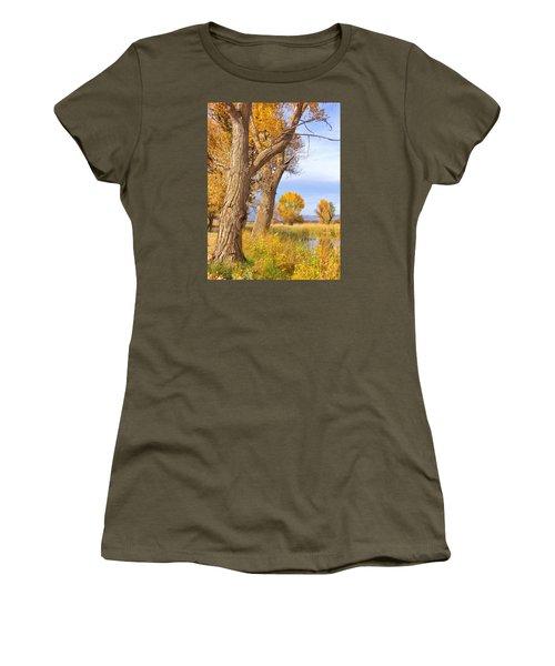 Remembering Autumn Women's T-Shirt (Junior Cut) by Marilyn Diaz