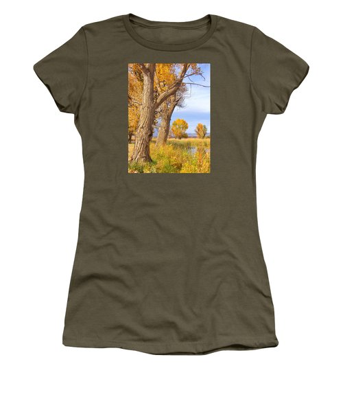 Remembering Autumn Women's T-Shirt (Athletic Fit)