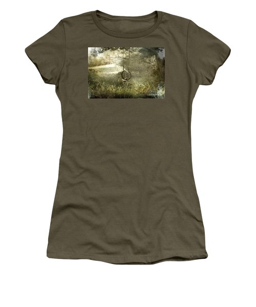 Reminiscing Women's T-Shirt (Junior Cut) by Ellen Cotton