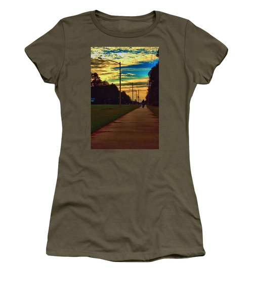 Riding Into The Sunset Women's T-Shirt