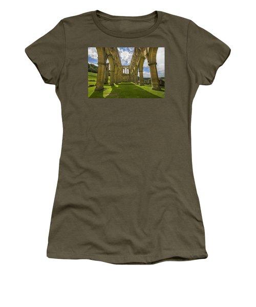 Rievaulx Abbey Women's T-Shirt (Athletic Fit)