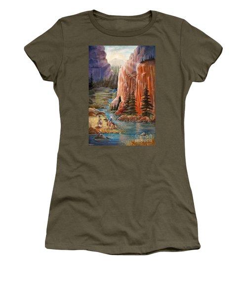 Rim Canyon Ride Women's T-Shirt