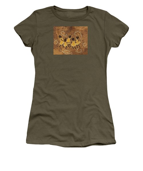 Ring-around-the Rosie Women's T-Shirt (Junior Cut) by Katherine Young-Beck