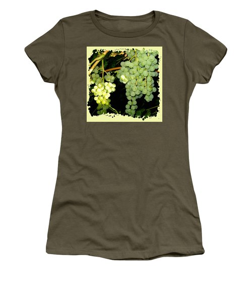 Women's T-Shirt (Athletic Fit) featuring the photograph Ripe On The Vine by Will Borden