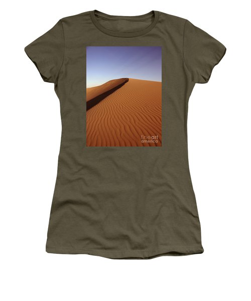 Ripples In The Sand Women's T-Shirt (Athletic Fit)