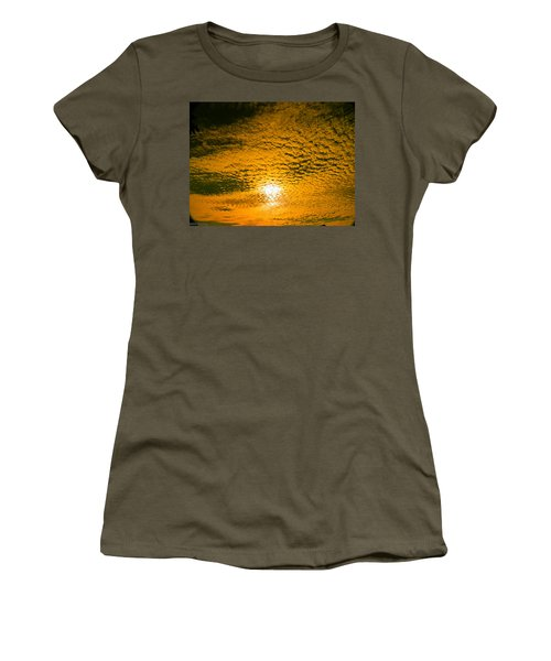 Ripples In The Sky Women's T-Shirt (Junior Cut) by Nick Kirby