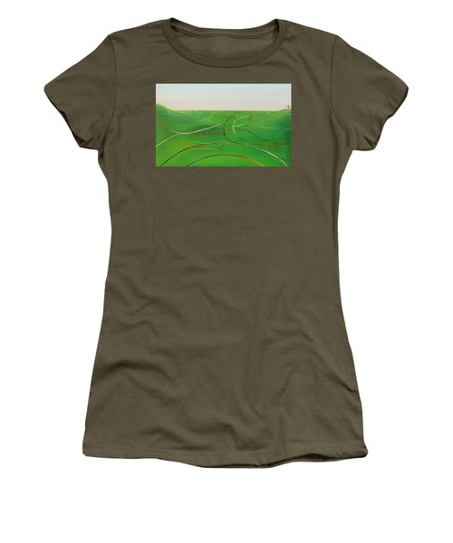 Ripples Of Life 1 Women's T-Shirt (Junior Cut) by Tim Mullaney