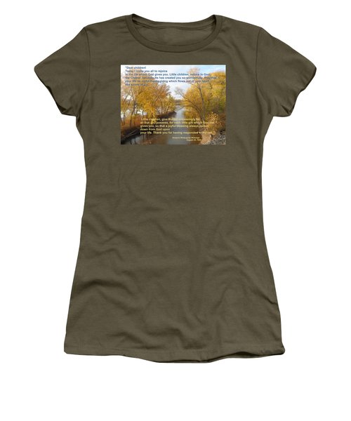 River Of Joy Women's T-Shirt