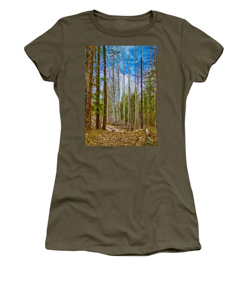 River Run Trail At Arrowleaf Women's T-Shirt