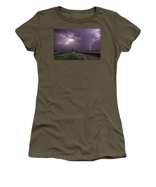 Road To Nowhere - Lightning Women's T-Shirt
