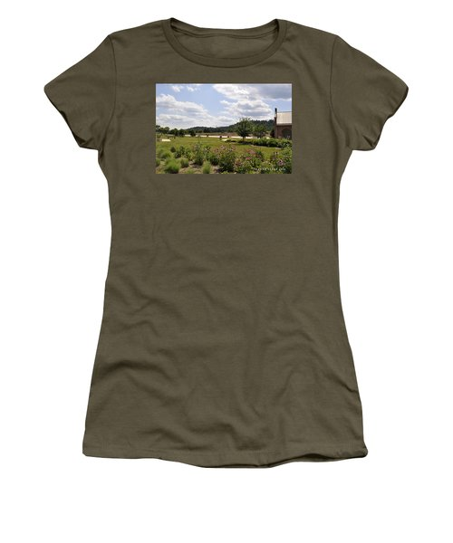 Women's T-Shirt (Junior Cut) featuring the photograph Road Trip 2012 #2 by Verana Stark