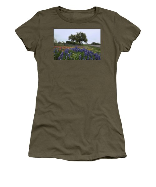 Roadside Splendor Women's T-Shirt (Junior Cut) by Susan Rovira