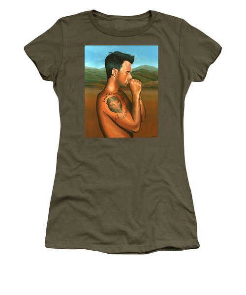 Robbie Williams 2 Women's T-Shirt (Athletic Fit)