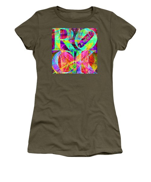 Rock And Roll 20130708 Fractal Women's T-Shirt