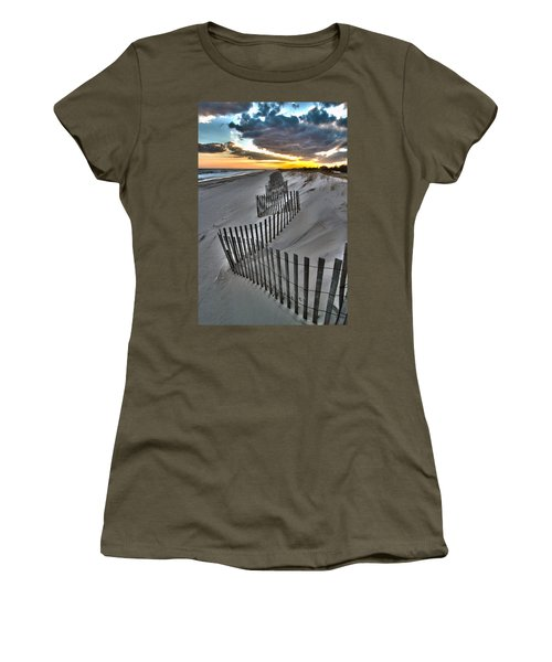 Rogers Beach First Day Of Spring 2014 Women's T-Shirt