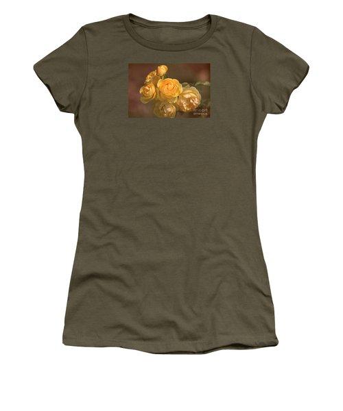 Romantic Roses Women's T-Shirt (Junior Cut) by Joy Watson