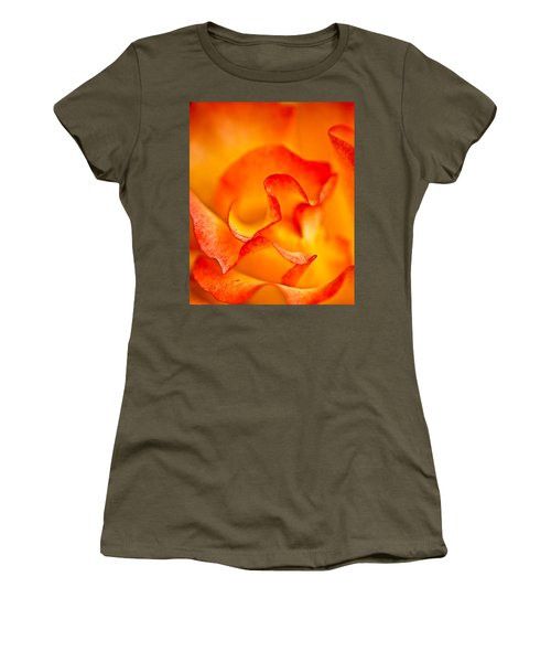 Rose Petals Closeup Women's T-Shirt