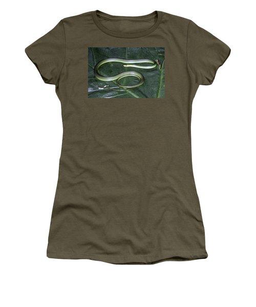 Rough Green Snake Women's T-Shirt