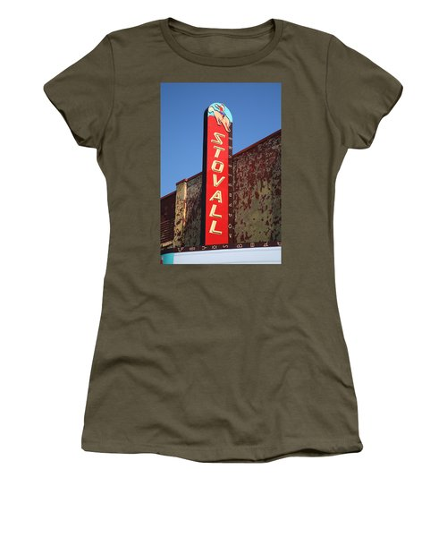 Route 66 - Stovall Theater Women's T-Shirt (Athletic Fit)