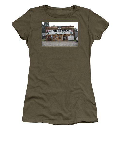Route 66 - Wrink's Market Women's T-Shirt