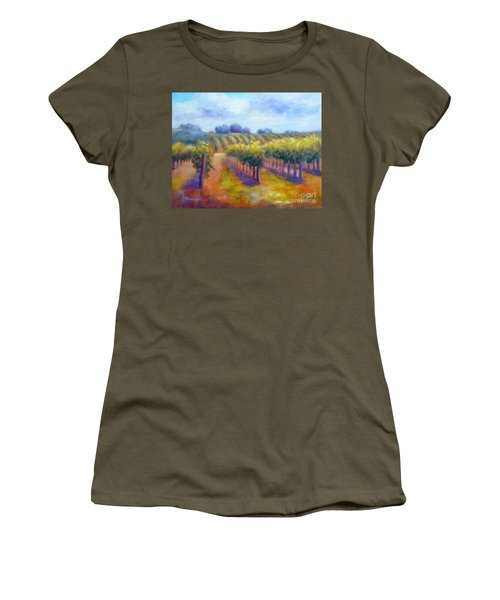 Rows Of Vines Women's T-Shirt